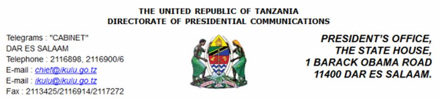 Ikulu yabadili anuani ya Tovuti yake - JamiiForums