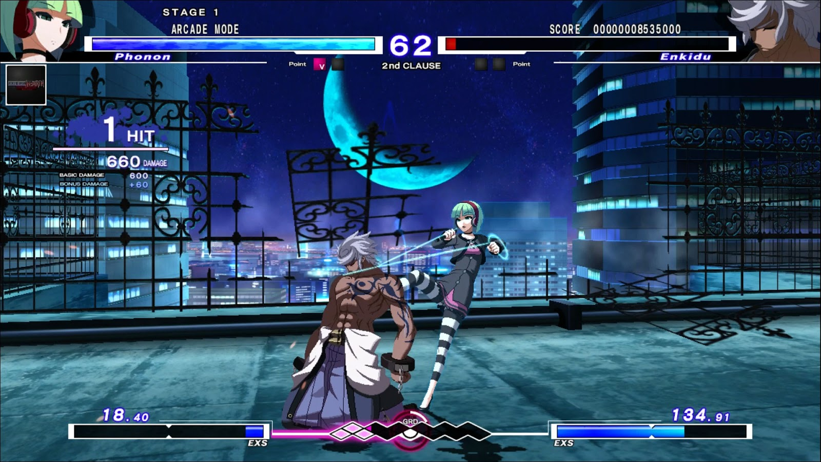 Review Under Night In Birth Exe Late St Sony Playstation 4
