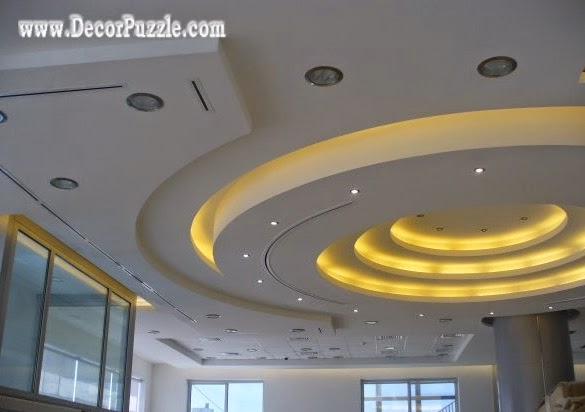 Top catalog of gypsum board false ceiling designs 2017