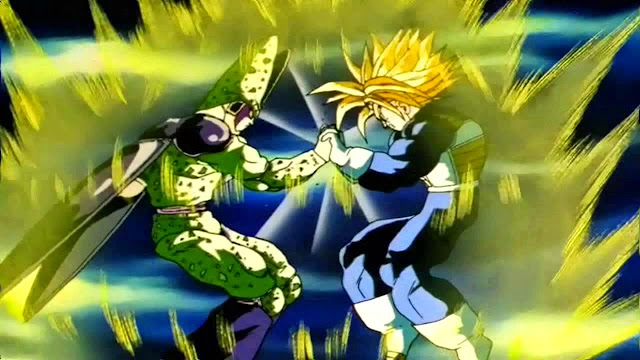 Trunks USSJ VS Perfect Cell