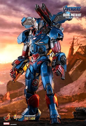 Best Toys 1/6th scale Avengers: Endgame Don Cheadle as James Rhodes / Iron Patriot figure