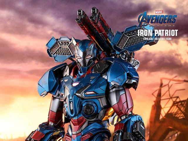 Best Toys 1/6th scale Avengers: Endgame Don Cheadle as James Rhodes / Iron Patriot figure