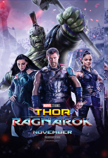 Thor Ragnarok 2017 HDRip 720p Dual Audio Hindi 1.1GB