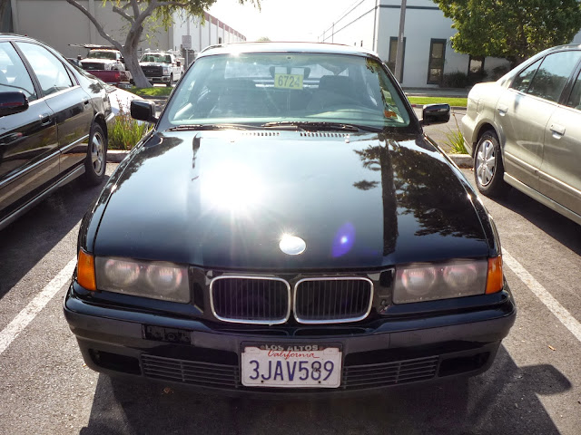 1994 BMW 325iS with new paint from Almost Everything Auto Body