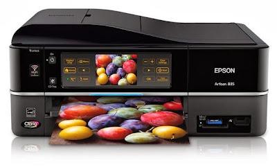 reseteo o restablecimiento de impresoras epson artisan 835