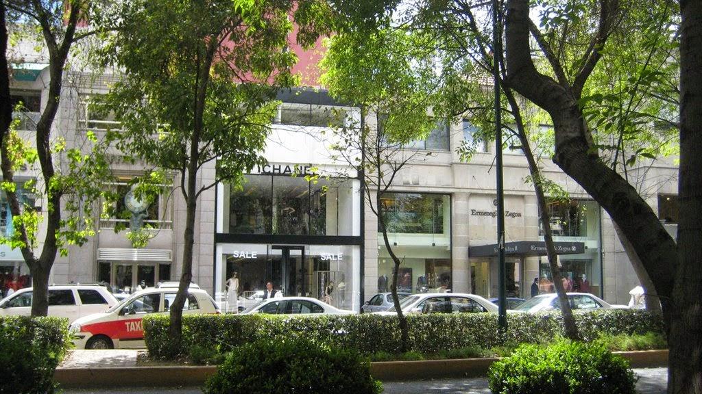 avenida-presidente-masaryk cidade do méxico