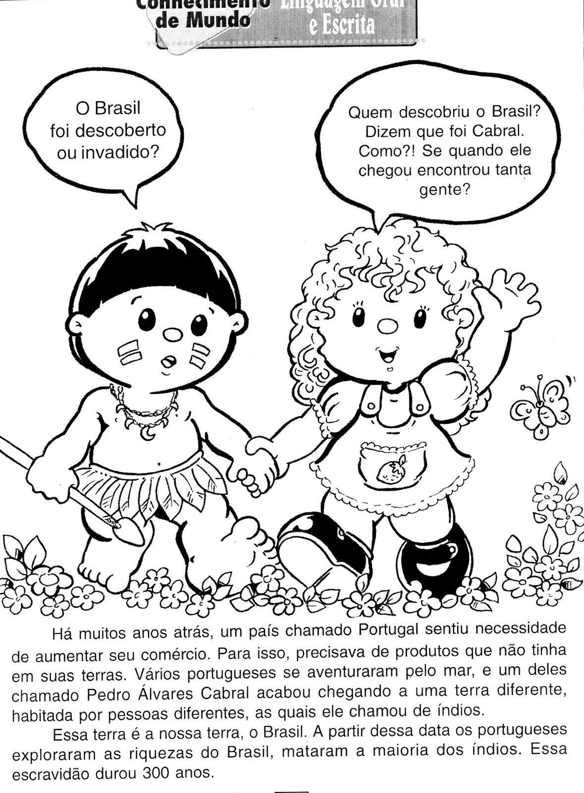 Portal do Professor do ensino Infantil: DESCOBRIMENTO DO