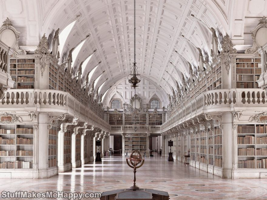 The Most Beautiful and Oldest Libraries in the World by Massimo Listri