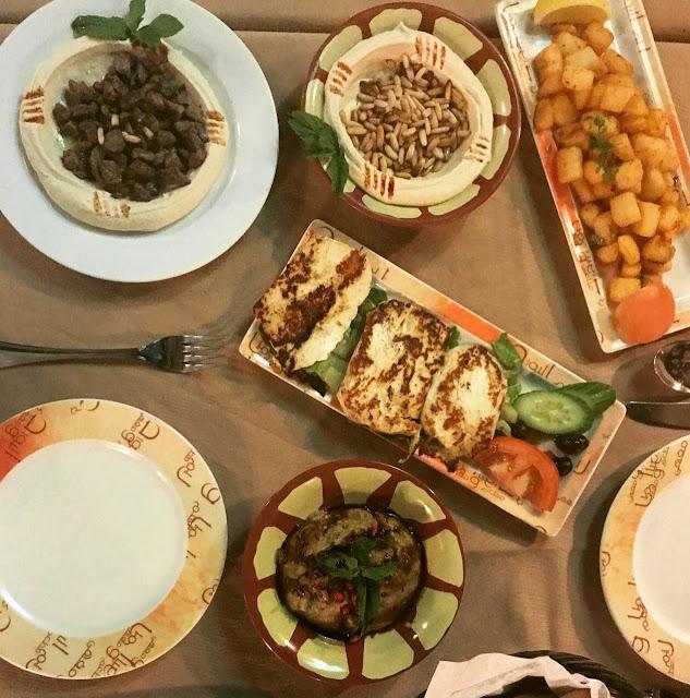Reem Al BAwadi Lebanese food Dubai