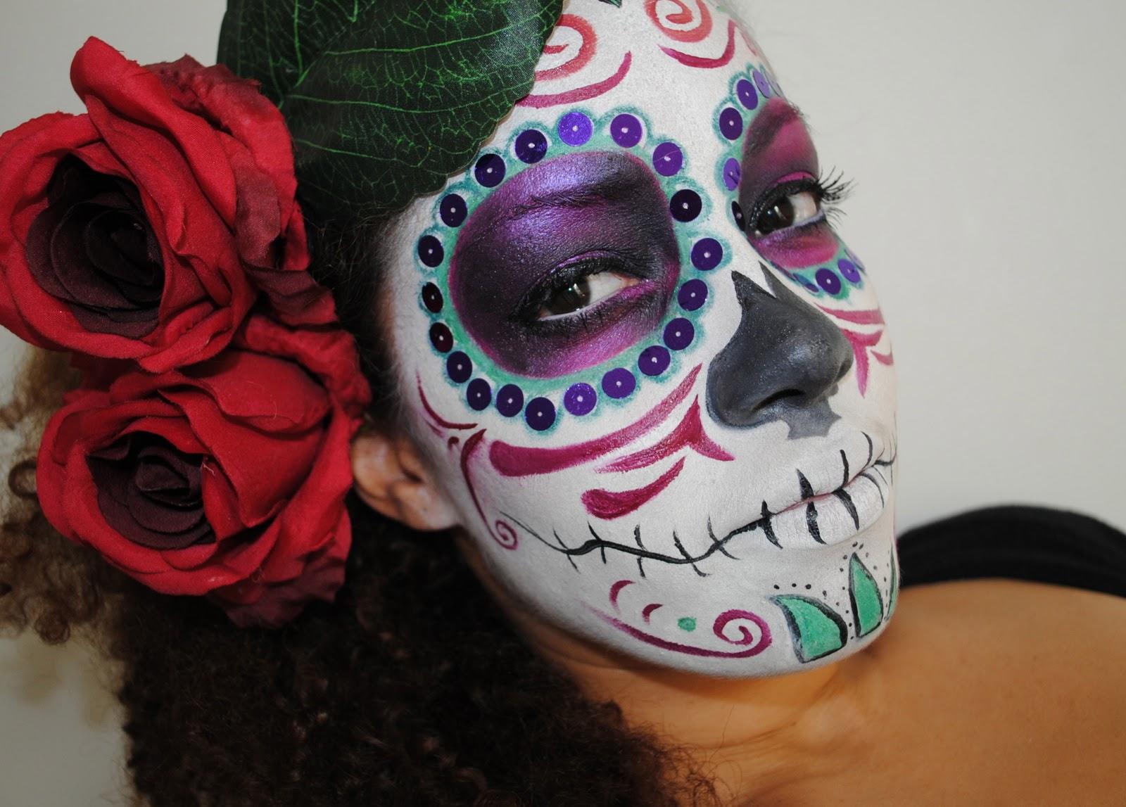 amivi make up tutorial maquillage halloween. Black Bedroom Furniture Sets. Home Design Ideas
