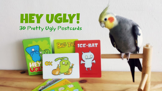 Hey Ugly! 30 Pretty Ugly Postcards | Cookietales (dieneryn)