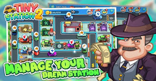 Tiny Station 2 Mod Apk Infinite Energy
