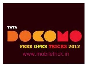 Free Gprs Tricks In All Network In Haryana: Tata Docomo Free Gprs