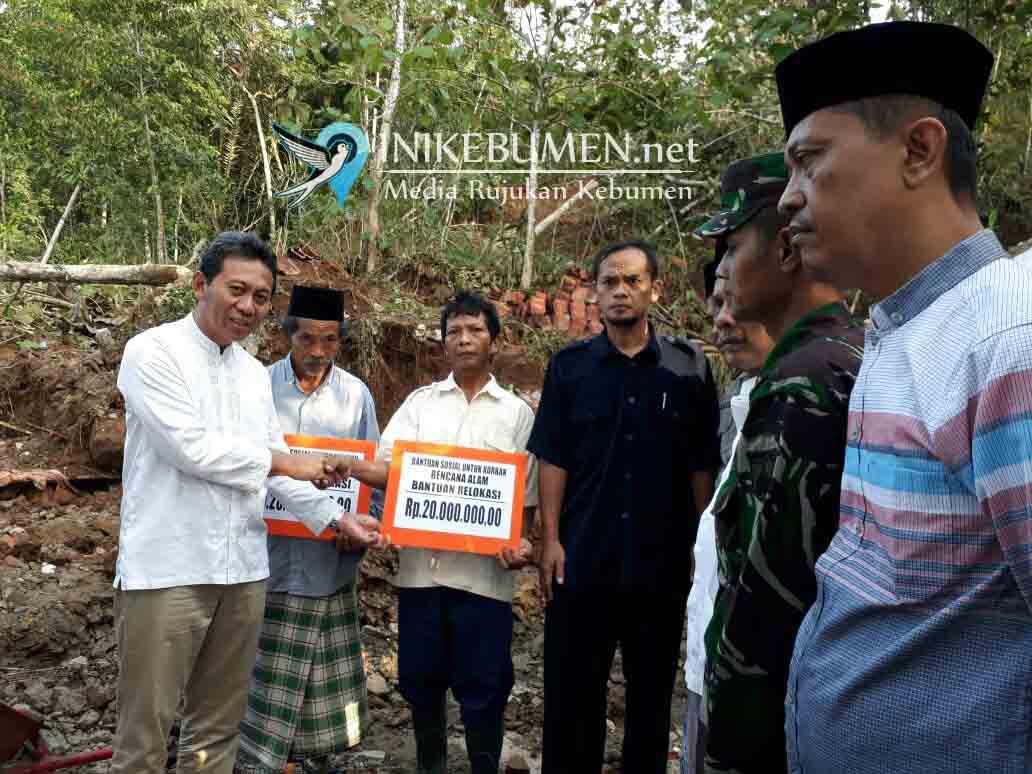 Tiga Rumah Korban Longsor Peniron Direlokasi