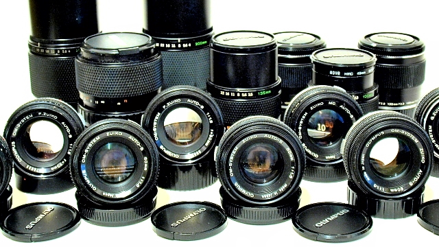For Sale: Olympus OM MF Lenses