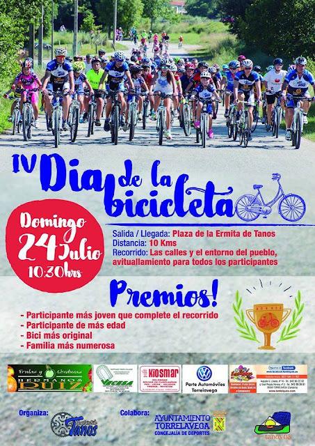 IV D�a de la bicicleta en Tanos
