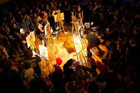 Free Art Friday a Art Battle