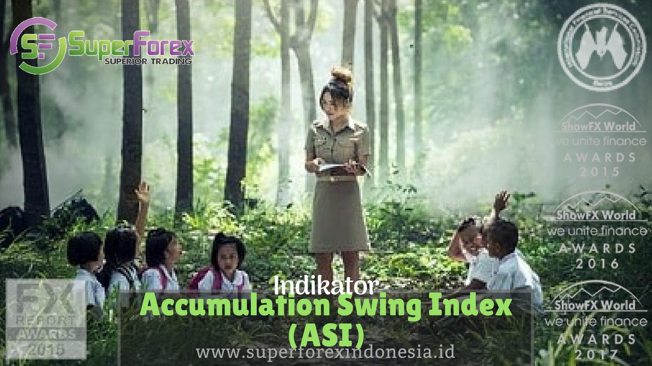 Indicator Accumulation Swing Index (ASI)