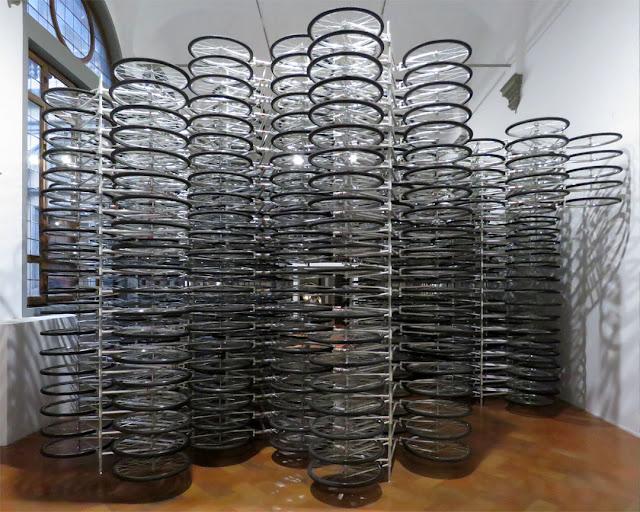 Stacked by Ai Weiwei, Ai Weiwei Libero exhibition, Palazzo Strozzi, Florence