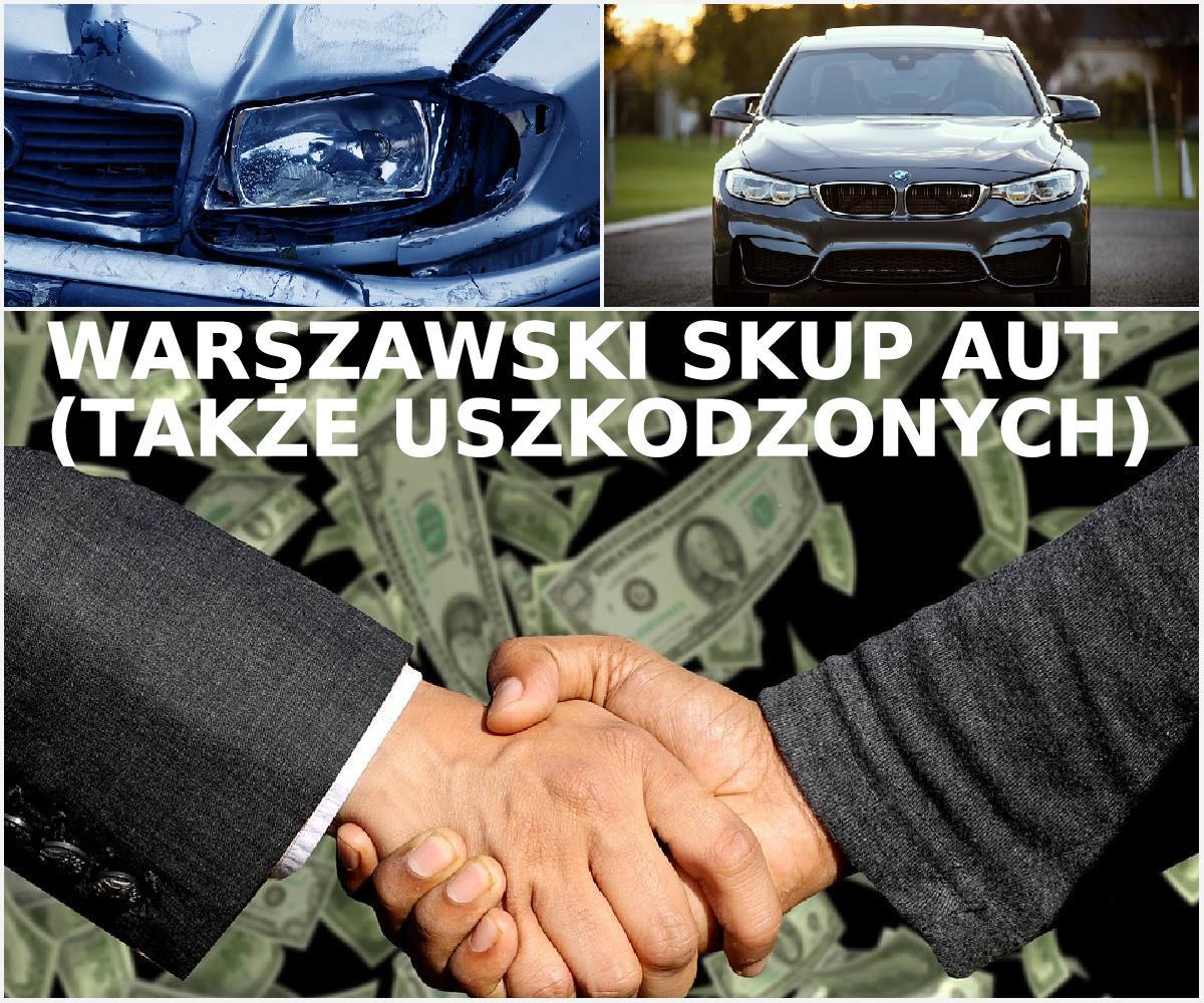 Warszawski skup aut - Błyskawiczna sprzedaż samochodów (również uszkodzonych) bez nerwów i straty czasu