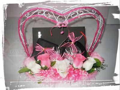 Hantaran Set Wallet & Tali Pinggan, Hantaran Bajet, Hantaran Kahwin