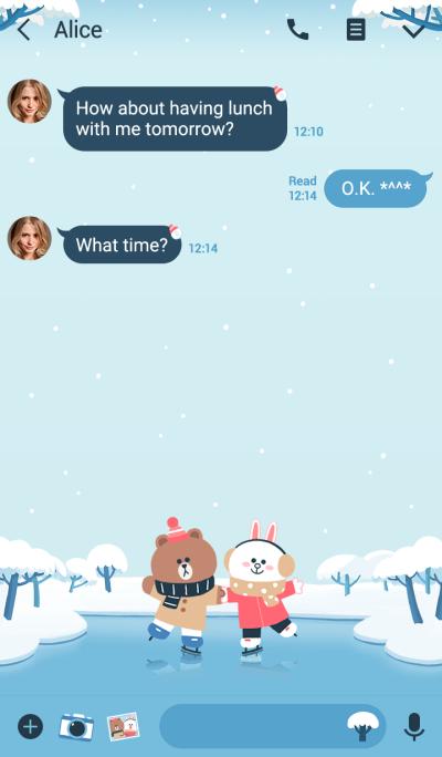 熊大&兔兔(冬季約會篇)