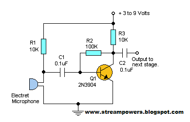 Wiring & diagram Info: Audio Pre Amplifier