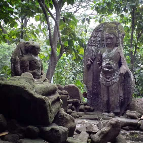 Situs Arca Gupolo Yogyakarta