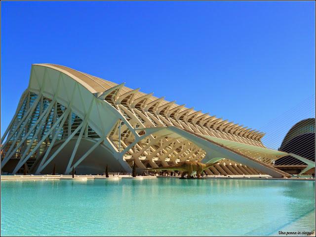 il museo della scienza di Valencia