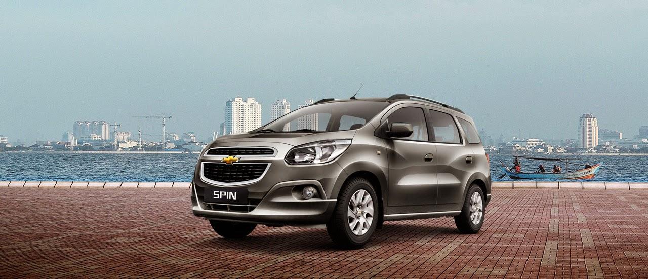 Harga Dan Spesifikasi Mobil Chevrolet SPIN Terbaru 2014
