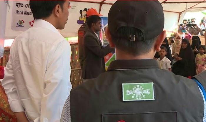 Jokowi, Pemimpin Asia Pertama yang Mengunjungi Pengungsi Rohingya di Rakhine State, Myanmar