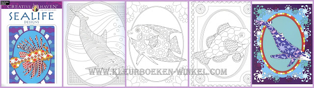 kleurboek sealife designs
