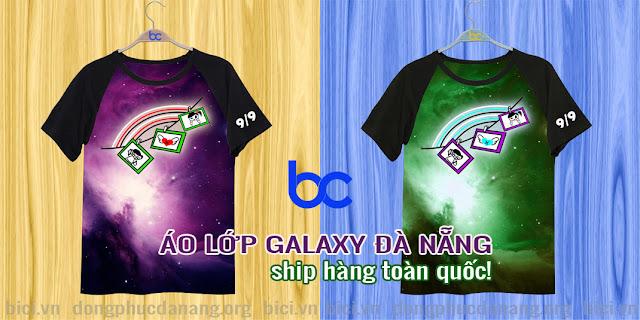 áo lớp galaxy Đà Nẵng 3D