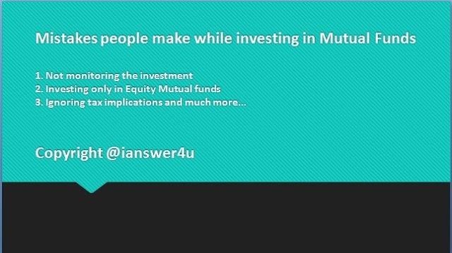 mutual fund mistakes wikipedia