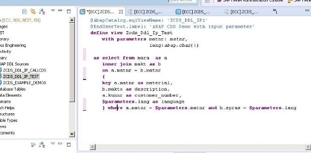 How To Use Cds View In Abap Program