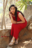 Telugu Actress Zahida Sam Latest Pos in Red Gown at RF Films New Movie Opening  0335.JPG