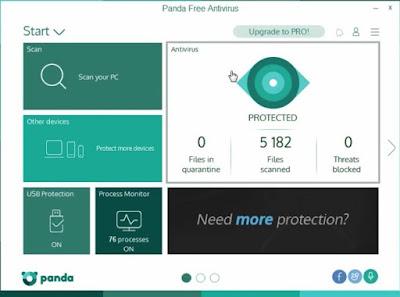 برنامج Panda Free Antivirus