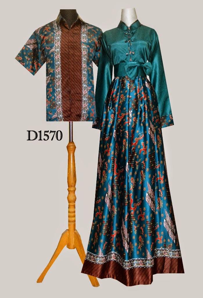 Model Desain Baju Batik Modern Terbaru Model Couple