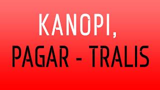 Kanopi | Pagar Tralis