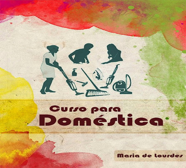 livro contendo curso para empregados domesticos