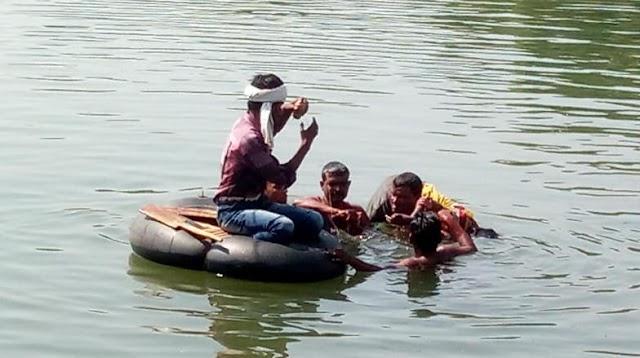 नदी में छलांग लगाकर खुदकुशी करने वाले.. किशोर की नही हो पाई शिनाख्त,  सोशल मीडिया पर तस्वीरें जारी.