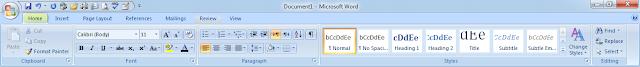 Kegunaan toolbar akses cepat