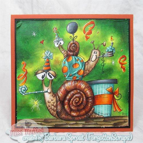 Jumbo Birthday Snails