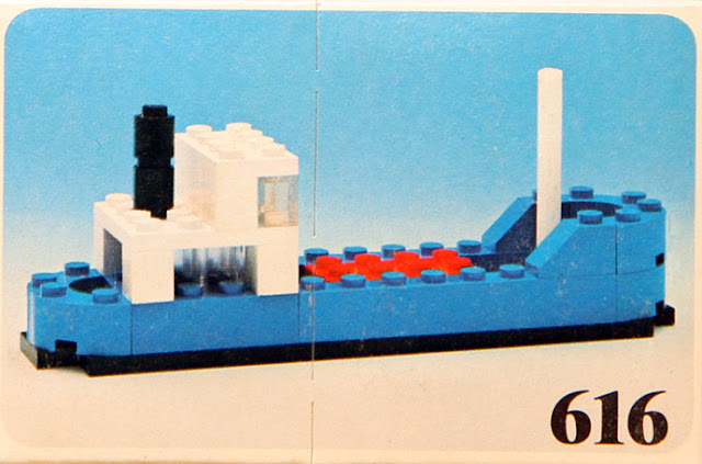set LEGO 616 Cargo ship