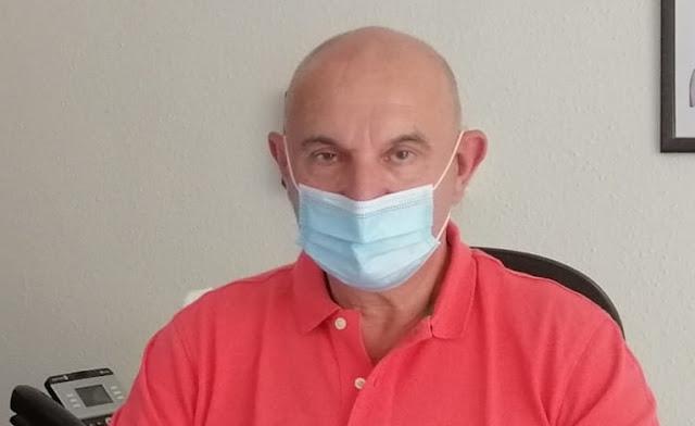Ángel Madrazo, concejal de Seguridad Ciudadana y Protección Civil