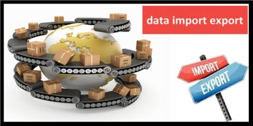Import Export Shipment Data Available Online