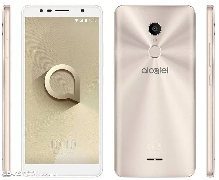 Alcatel 3C Press Renders Leaked