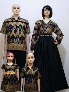 Model baju batik sarimbit mewah
