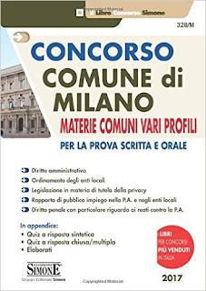 Concorso Comune Di Milano. Materie Comuni Vari Profili. Per La Prova Scritta E Orale PDF
