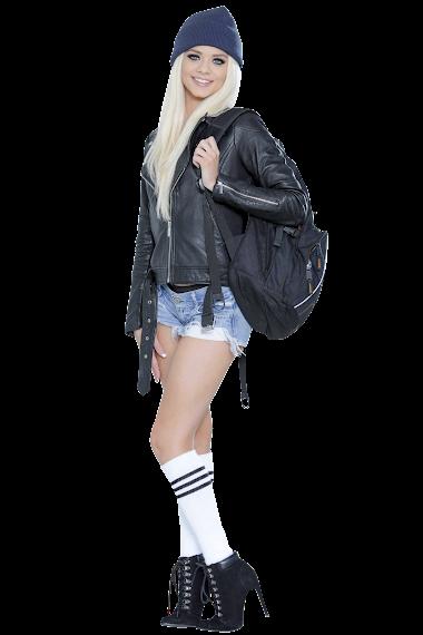Models - Elsa Jean - Pretty Theft (1)
